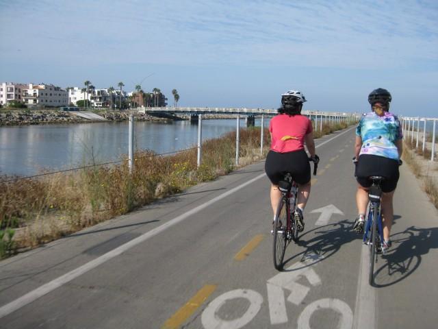 Marina Del Rey Bike Path